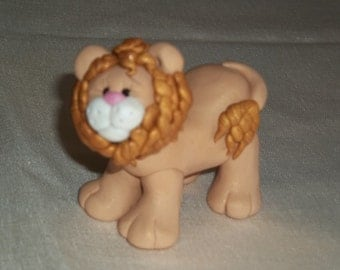 FIMO Lion Figurine