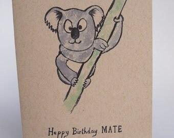 Greeting Card - Happy Birthday Mate