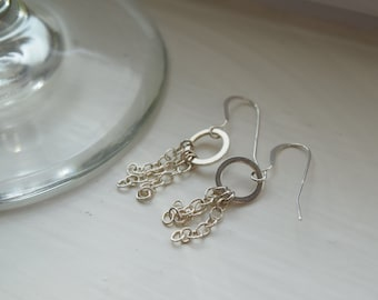 Cute dangly silver earrings