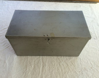 Gunmetal Grey Lock Box