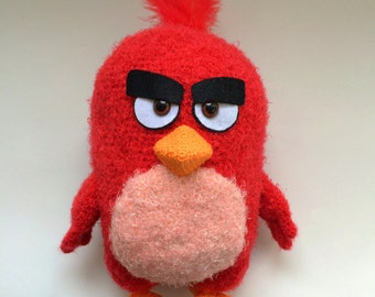 Red By Angry birds, PDF CROCHET PATTERN, Instant Download, Amigurumi