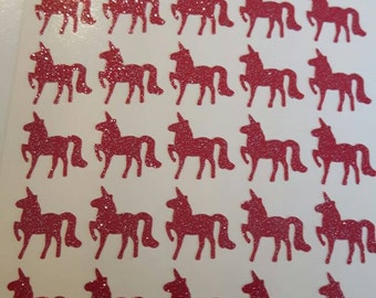 Unicorns 25 stickers nail, stickers for nails, nail sticker unicorn
