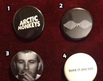 Arctic Monkeys Buttons