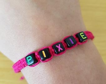 Pink Pixie Hemp Bracelet