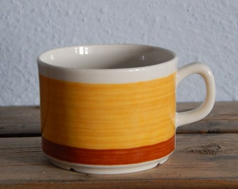 Scandinavian Vintage Gefle STINA Coffee Cup Ceramic Small Cup