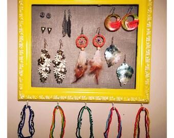 Antique Frame Jewelry Organizer
