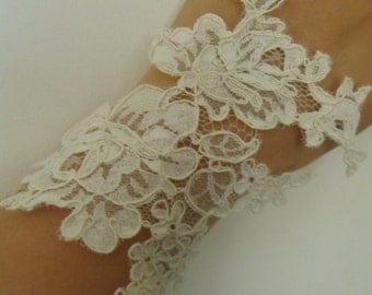lace wedding bracelet