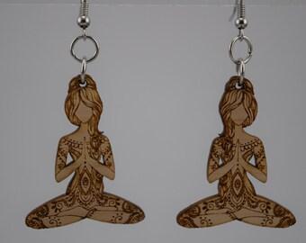 Yoga Guru Earrings