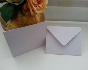 White envelope to letter