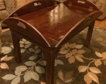 19th Century antique butlers table