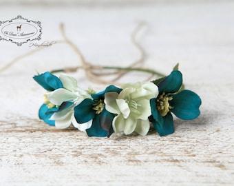 newborn headband, newborn flower crown, nature inspired, photo session, photo prop
