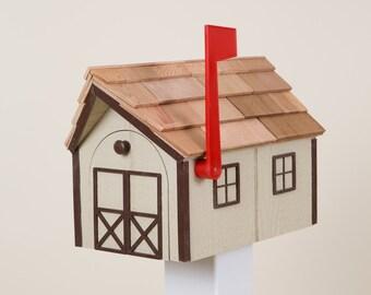 Barn mailbox | Etsy