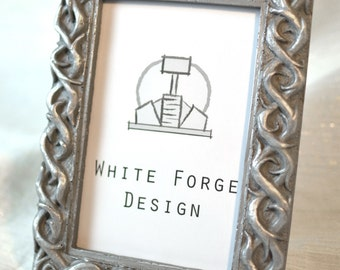 4x6 ornate aluminum picture frame