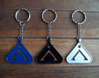SALE! Stargate Keyring Keychain - Point of Origin - Earth Symbol Chevron