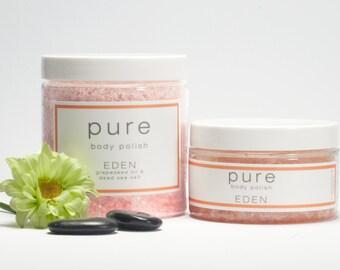PURE Eden Body Polish | Sea Salt Body Scrub Collection