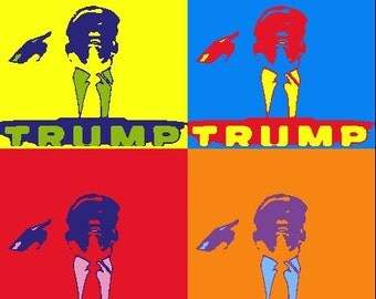 Trump Political Art 2016