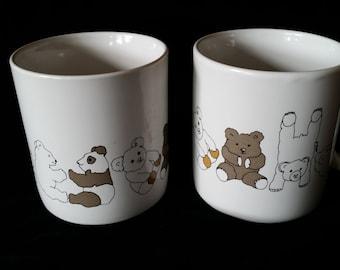 Circle of Bear Mugs