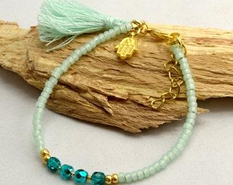 Bracelet with Tassel