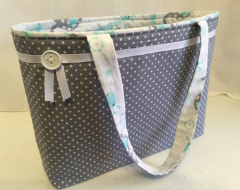 Baby Boy Quilted Diaper Bag