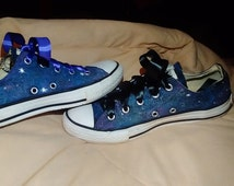 Hand Painted Galaxy Converse