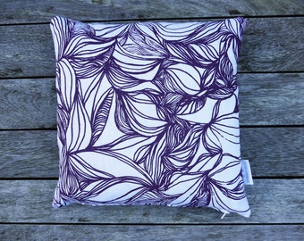 Hand Screen Printed Cushion 'Flow'