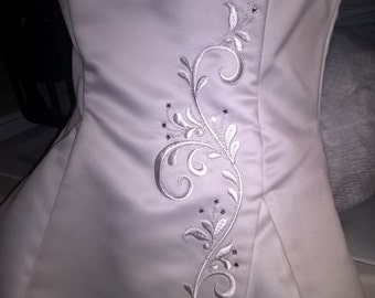 Price reduction! SIZE 8 WEDDING DRESS