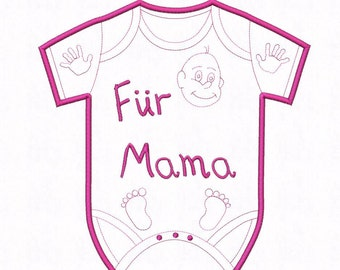 Baby Bodysuit Mama in 4 sizes