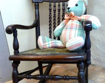 Child's Rocking Chair/19th Century Victorian Rocking Chair/Old child's Rocking Chair/Oak Rocking Chair/Kids Rocking Chair