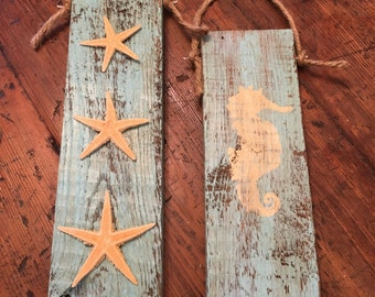 Rustic Coastal Wall Hangings