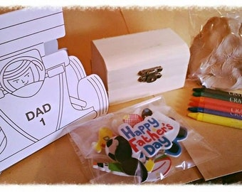 Small Father's day craft set