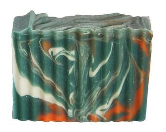 Coral Reef Natural Bar Soap, Natural Soap, Handmade Soap, Cold Process Soap, Natural and organic ingredients