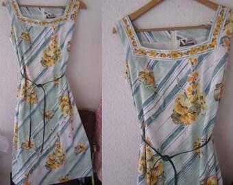 Vintage 60s dress INA model dress sundress