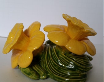 Holland Co Daffodil Taper Candle Holder