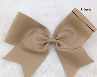 8 Inch Hair Bows, Cheerleading Bows, Extra Large Hair Bows, Hair Bows. Girls Hair Clips