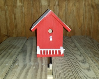 Mini Birdhouse Decor