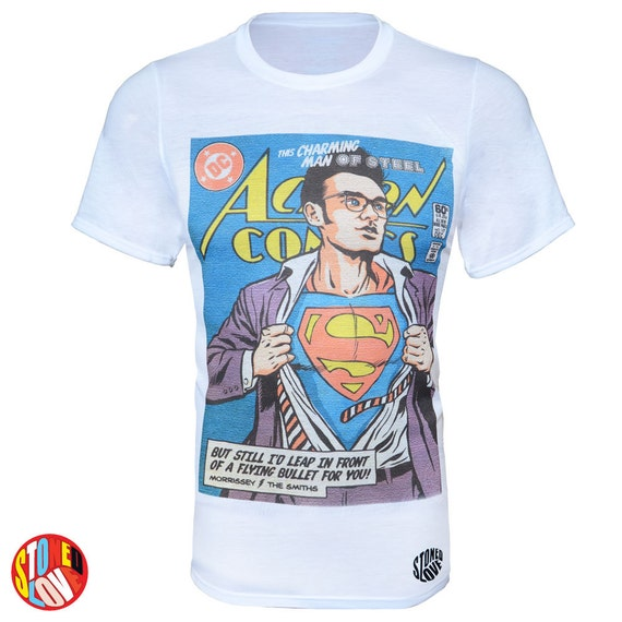 Man of steele morrissey the smiths superman t shirt kids for Make your own superman shirt