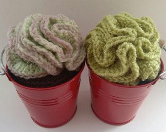 10. Crochet Succulent plant