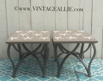 Starfish End Table Set