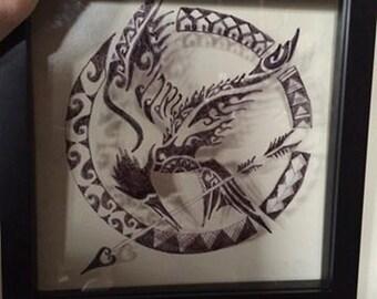 Picture fram art