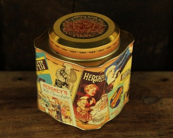 Vintage Chocolate Tin,  Hershey's,  Edition # 3, 1995
