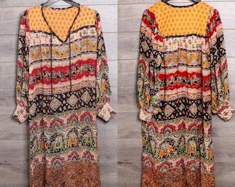 American Vintage bohemian dress #9
