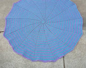 Crochet Spiral Baby Blanket