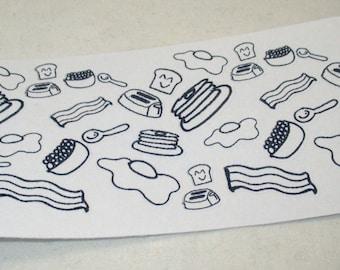 Breakfast Doodlez Stickers