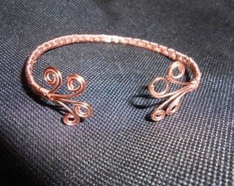 Copper Wire Weaved Bracelet - Beautiful