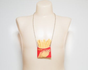 Would You Like Fries With That? Necklace
