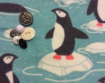 penguin flanel