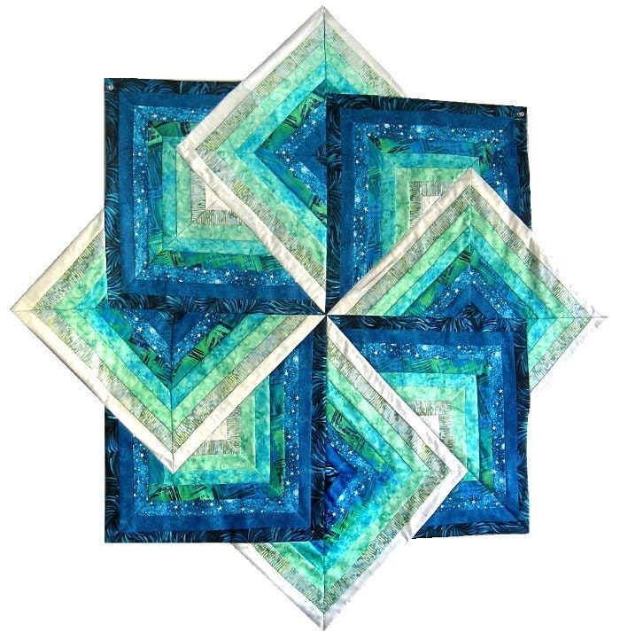 Bali Shores QUILT KIT Quilt Pattern Beautiful Bali Batiks