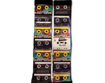 Mixtape Cassette Tape Socks
