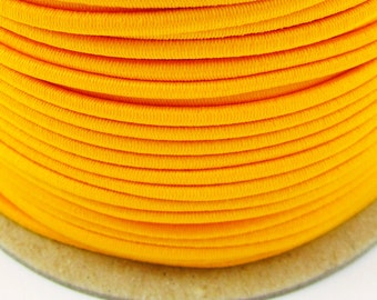 50 M rubber cord 3 mm neon yellow