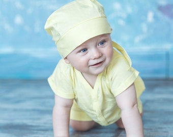 Lemon cotton summer set